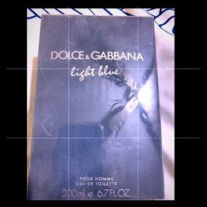Dolce&gabbana light blue man